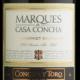 Marques de Casa Concha, 2013