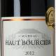 Château Haut Bourcier, 2012