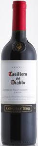 Casillero del Diablo, Cabernet Sauvignon, Concha y Toro, 2015