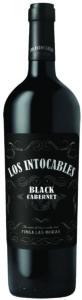 Los Intocables, Black Cabernet, Finca Las Moras, 2015