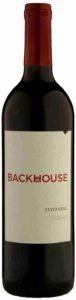 Backhouse Zinfandel, Backhouse Wine, 2014