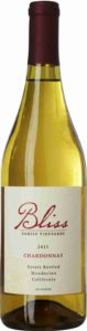 Bliss Chardonnay, Bliss Vineyards, 2015