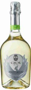 Pinot Grigio, Spumante Extra Dry, Giol, 2016