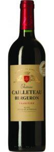 Blaye Tradition, Château Cailleteau Bergeron, 2016